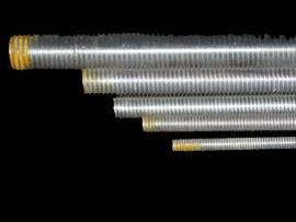 Gewindestange M6 x 1000mm  Stahl 8.8 verz. - Bild vergrößern