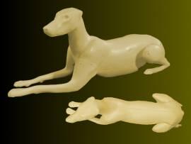 Wolf / Schäferhund Nr.: 6-105  liegend 13,5-27-39-125-77,5 - Bild vergrößern