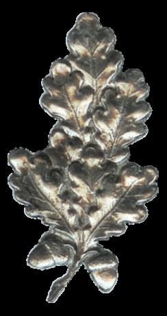 Eichenblatt mit 2 Eicheln 5,5x3 cm Nr.: KWD 011